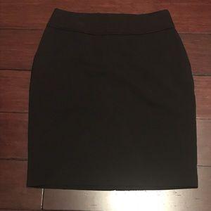 H&M Black Pencil Dress Skirt - Size 6